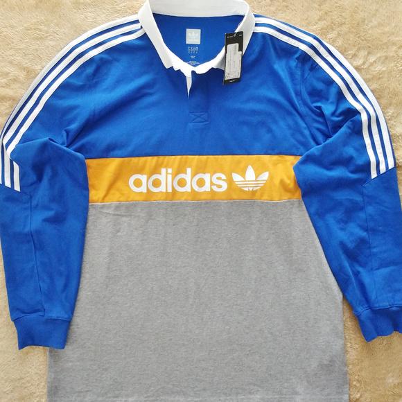 3a2e6d98 adidas Shirts | Mens Xl Heritage Polo Shirt Nwt Xl | Poshmark